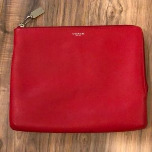 Red Coach Tablet Case with Keller Williams